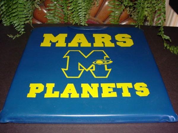 MARS High School, Mars PA - PLANETS - BLEACHER SEAT ...