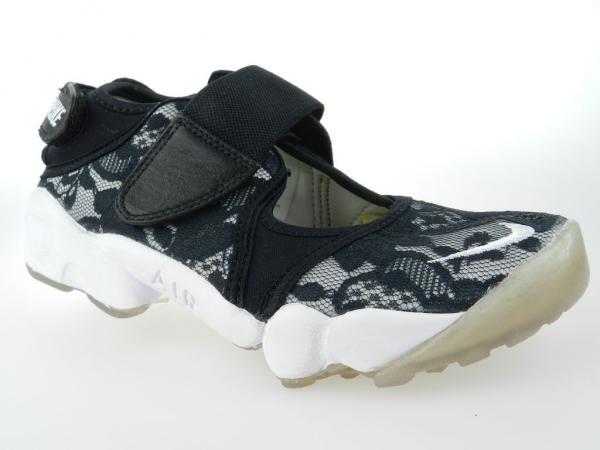 NIKE AIR RIFT NEW Womens Split Toe Black Running Shoes Size 6 on ... eb1fb7fd03
