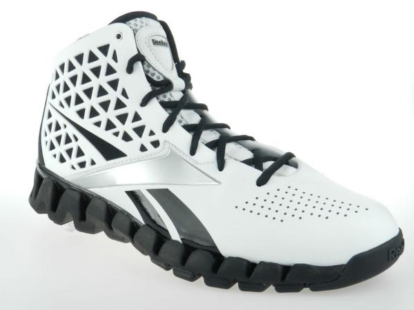 REEBOK ZIG SLASH NEW Mens John Wall Zigtech White Black Basketball ... 5982db518
