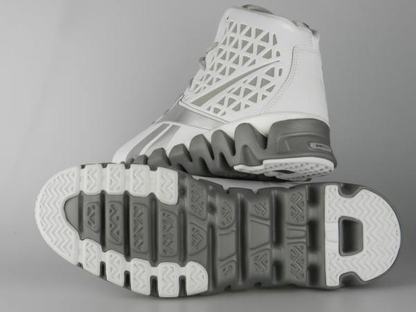 9f2e8b73daa SLASH NEW Mens John Wall Zigtech White Silver Basketball Shoes on ...