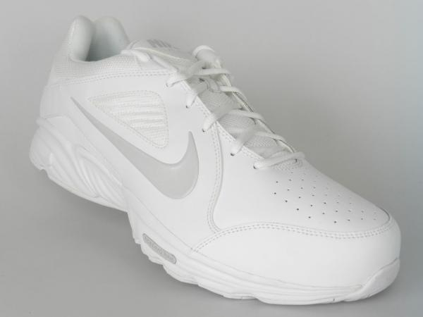 nike view iii size 14 w wide new mens slip resistant white