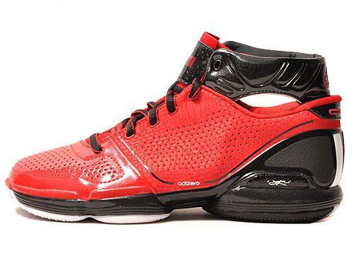 competitive price b9884 8b697 ADIZERO DERRICK ROSE NEW G22538 Mens Red Bulls Basketball Shoes Size 9
