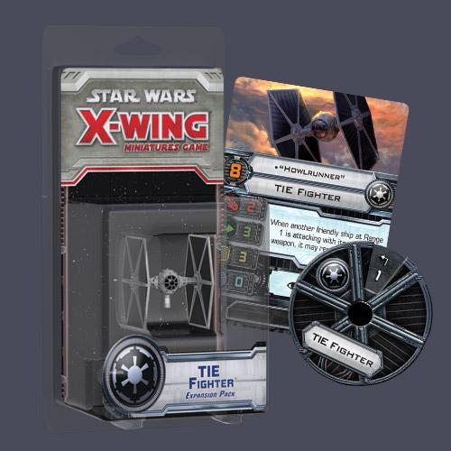 Star Wars X Wing Miniatures Game: Tie Fighter Expansion Pack Star Wars X Wing Miniatures