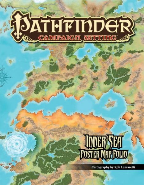 Inner Sea Poster Map Folio a Pathfinder RPG Supplement | eBay