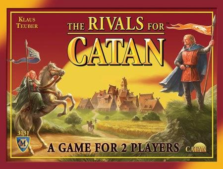 The Rivals of Catan a Settlers of Catan card Game NEW