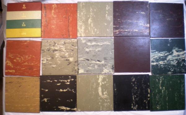 Flintkote Tile Tex Asphalt Asbestos Floor Flooring Tile Samples