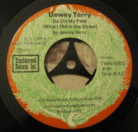 Dewey Terry Do On My Feet