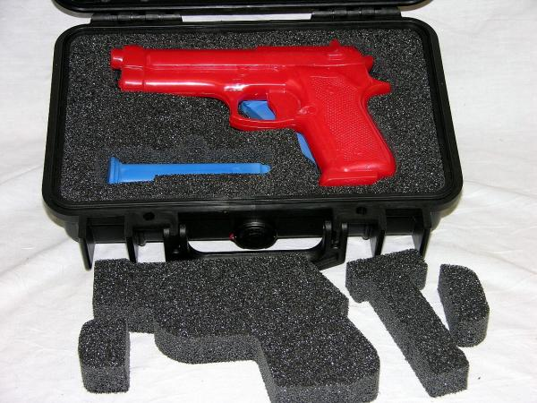 4 mags  nameplate Shooters Solution Pistol handgun foam fits your Pelican 1170