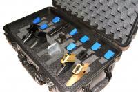 25 mags Quick Draw handgun foam insert fits Pelican Storm im2400 case 6 pistol
