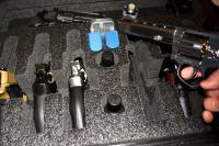 3 Large Revolver Pistol Quickdraw Foam Insert Fits Your Pelican 1510 Case Sporting Goods bonus