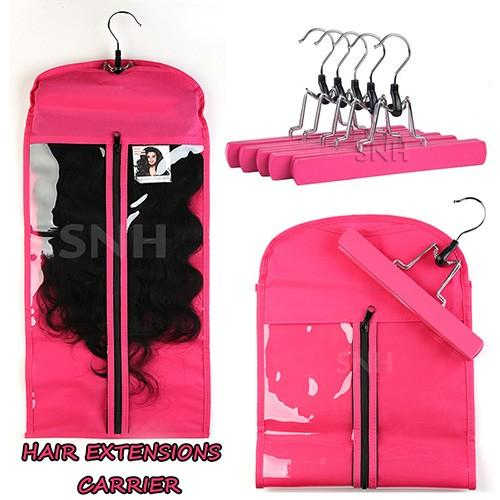 Best choice virgin hair clip in hair extensions case suit hanger the hair extensions carrier allows you to safely store your hair extensions will improve the lifespan of your hair extensions by providing extra protection pmusecretfo Choice Image