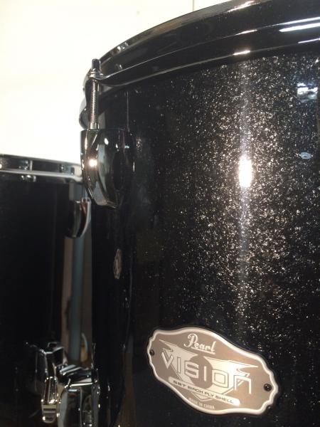 Pearl vision two floor tom add on pack w 16x16 14x14 for 14x14 floor tom