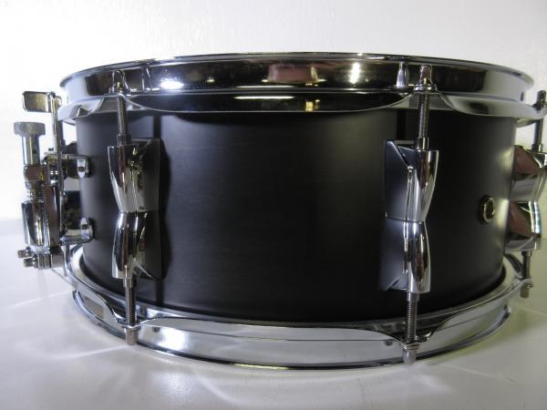 yamaha stage custom snare drum 14 x 5 5 matte black 8 lugs birch shell ebay. Black Bedroom Furniture Sets. Home Design Ideas