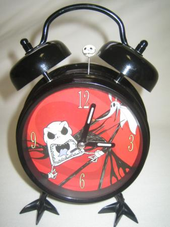 Details about Nightmare Before Christmas ALARM CLOCK Jack Skellington ...
