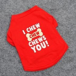 Cute Pet Dog Clothes T Shirt Shirts Type Style Size XS S M L Free