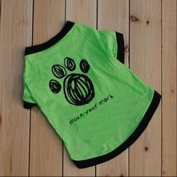 NEW Cute Little Pet Dog Clothes T Shirt Shirts Type Style Size XS S M