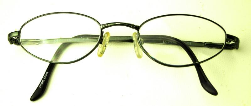Eyeglass Frame Numbers Mean : ELIZABETH ARDEN BLACK WIRE RIM DESIGNER EYEGLASSES EYE ...