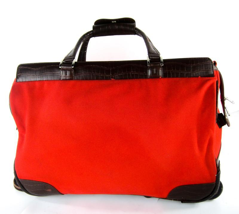 swiss gear red 22 39 rolling carry on duffel duffle bag luggage travel gear