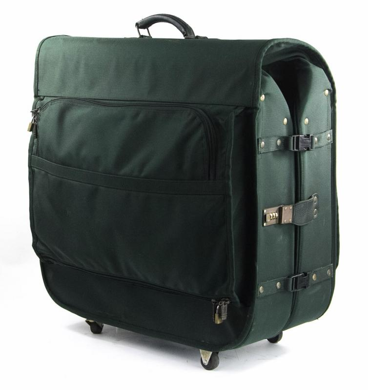Tumi Alpha Extra Large Green Rolling Bifold Garment Bag