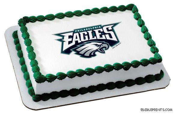 Philadelphia Eagles Edible Image Icing Cake Topper