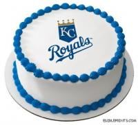 Kansas City Royals Edible Image Icing Cake Topper