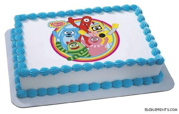 Yo Gabba Gabba Edible Image Icing Cake Topper