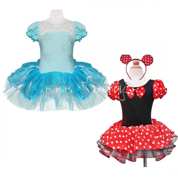 kids girls baby toddler minnie mouse snowflake party