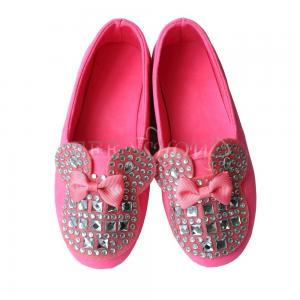 kinder ballerina schuhe m dchen halbschuhe schleife lederoptik toddlers slippers ebay. Black Bedroom Furniture Sets. Home Design Ideas