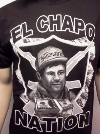 El chapo nation t shirt el chapo guzman mens tee free for Chapo guzman shirt brand