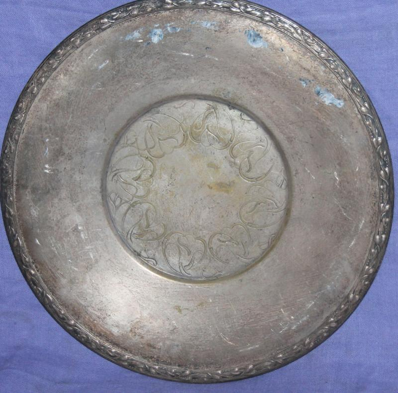 Wm A Rogers Silver Plate Marks: Vintage Meadowbrook Wm A Rogers Floral Silver Plated