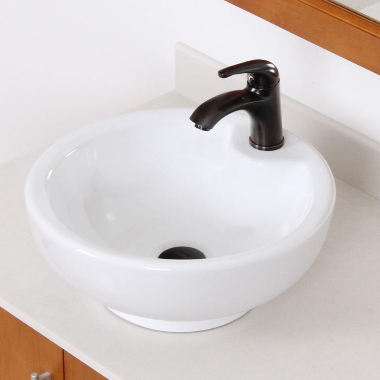 bathroom bowl ceramic porcelain vessel sink amp rubbed 20030