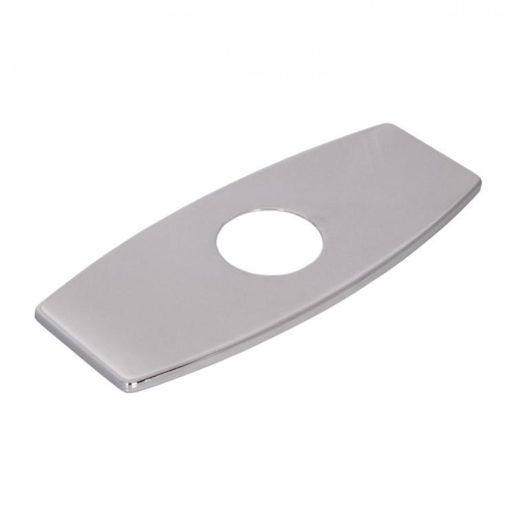 Elite Chrome Bathroom Sink Faucet Hole Cover Deck Plate