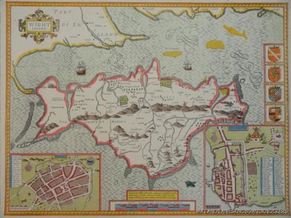 OLD COPY OF ANTIQUE MAP S ISLE OF WIGHT EBay - Old map shop london