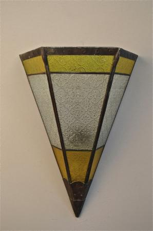 Vintage Stained Glass Moroccan Moorish Wall Light Shade Coloured Glass Lamp R17 eBay