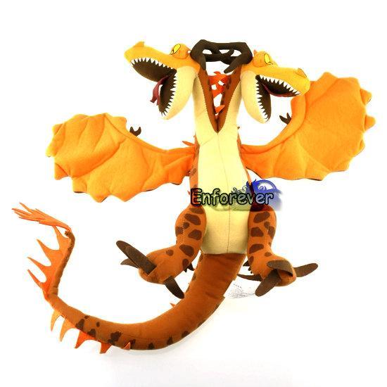 "How to train your dragon 12"" Hideous Zippleback Plush Toy ..."