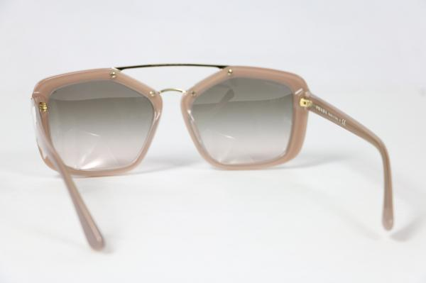 prada sunglasses spr 24r coffee 56 17 uec