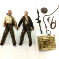 2pcs New Indiana Jones Kingdom of the Crystal Skull Collection Hasbro Figure toy