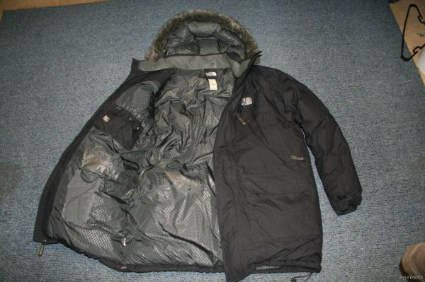 V1n North Face Mcmurdo Hyvent 550 Goose Down Jacket Coat Parka Men