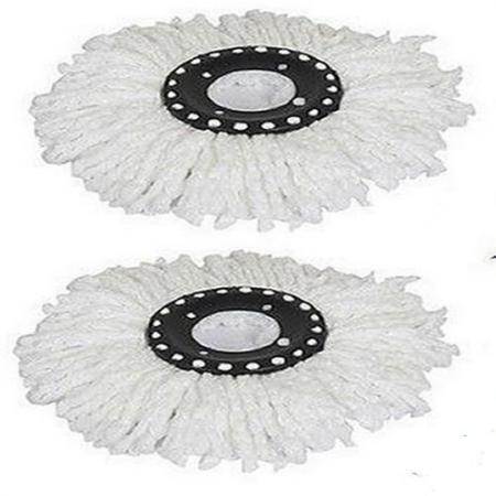 2pcs Microfiber Microfibric Mop Head Refill For Hurricane