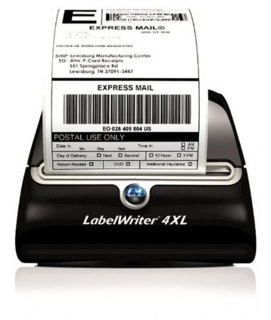 4 rolls 220 thermal shipping labels 4x6 compatible 1744907 for Dymo 4x6 label printer