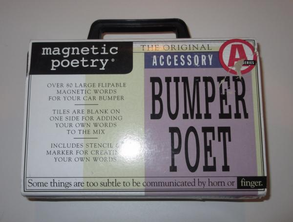 The Magnetic Poetry Story Dave Kapell, founder of Magnetic Poetry, was suffering from writer's block while trying to compose song lyrics. To overcome this problem, he wrote down interesting words on pieces of paper and rearranged them, looking for inspiration.