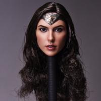 1//6 Gal Gadot Wonder Woman Head Sculpt pour Hot Toys PHICEN TBLeague Figure USA