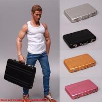 1//6 Scale Suitcase Model Scene Accessories Toys For 12/'/' Figure Aluminum Alloy