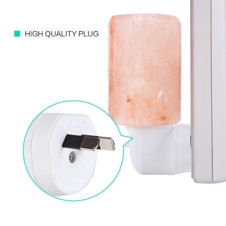 Himalayan Pink Salt Lamp Bulb Wattage : HIMALAYAN SALT LAMP Mini Bulb Natural Pink Crystal Rock Wall Night Light AU New eBay