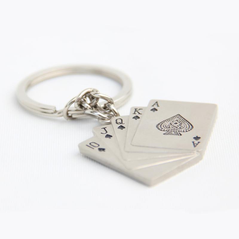 Poker key rings