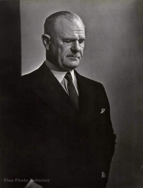 1946 Original LORD ARCHIBALD WAVELL Viceroy India YOUSUF KARSH ...