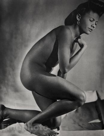 Print Ethnic Black Negro Female Nude Woman Art Paul Facchetti