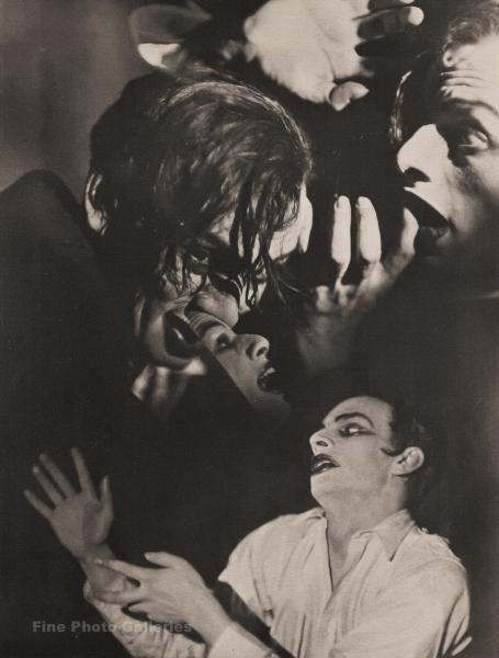 1920s Original Francois Bruguiere Scared Horror Fear Surreal Art Collotype Photo Ebay