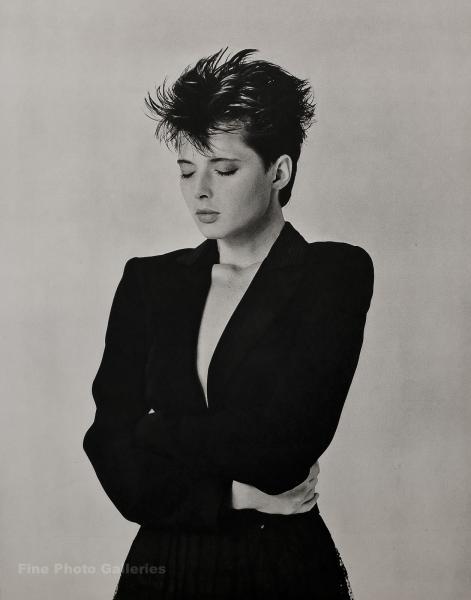 1981 Vintage Bruce Weber Movie Actress Isabella Rossellini Milan Photo Gravure Ebay