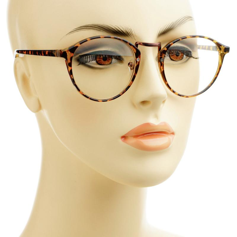 Celebrity Inspired Vintage Retro Style Clear Lens Round ...